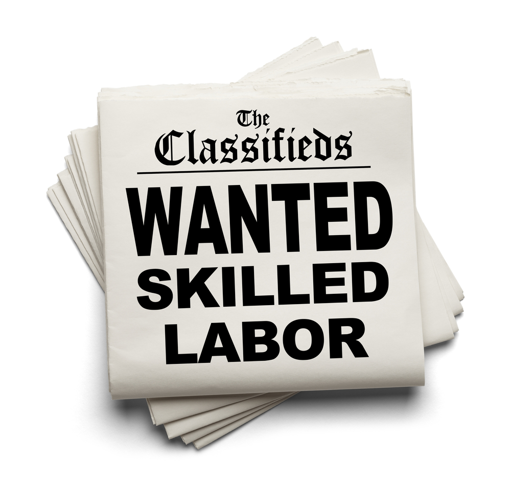 LABOR SHORTAGE – EXPECT THE BEST, PLAN FOR THE WORST